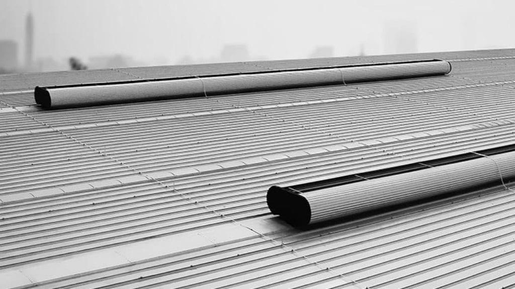 sistema exhaust de ventilação natural