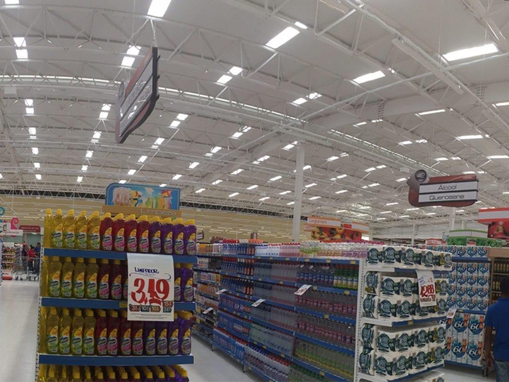Supermercado Araucária PR 2 Skylux 555 + Exhaust